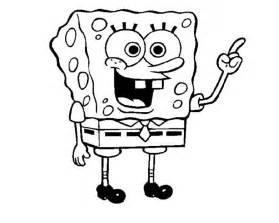 Free Printable SpongeBob SquarePants Coloring Pages For Kids sketch template