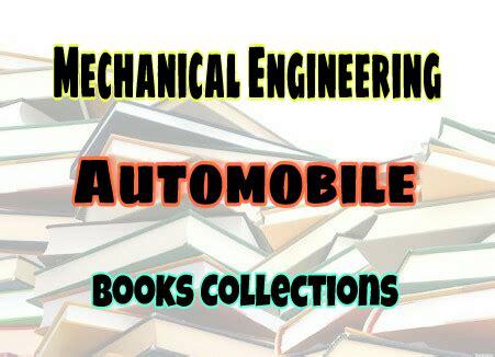 automobile engineering books    easyengineering