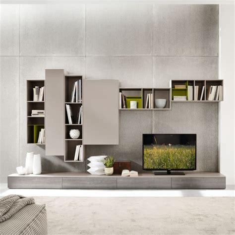 Wohnzimmer Tipps 3901 by Wohnzimmerm 246 Bel Grau Tv Wohnwand Betonwand Furniture