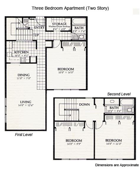 two story apartment floor plans brookhaven apartments floor plans