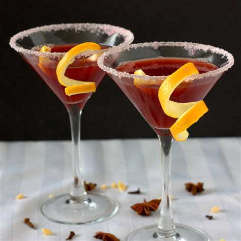 pomegranate martini mulled pomegranate martini experimental epicurean