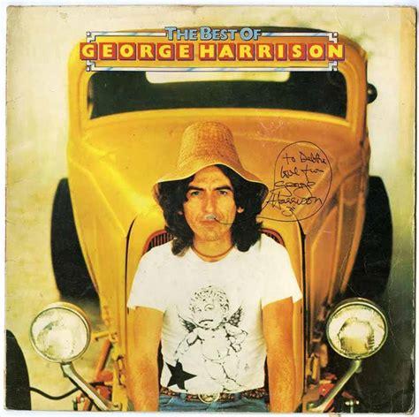 best george harrison album lot detail the beatles george harrison signed quot best