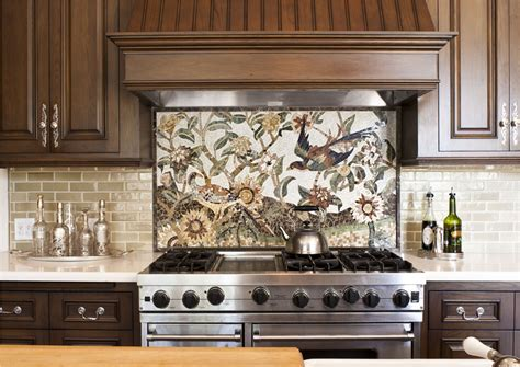 kitchen backsplash mosaic subway tile backsplash ideas kitchen traditional with