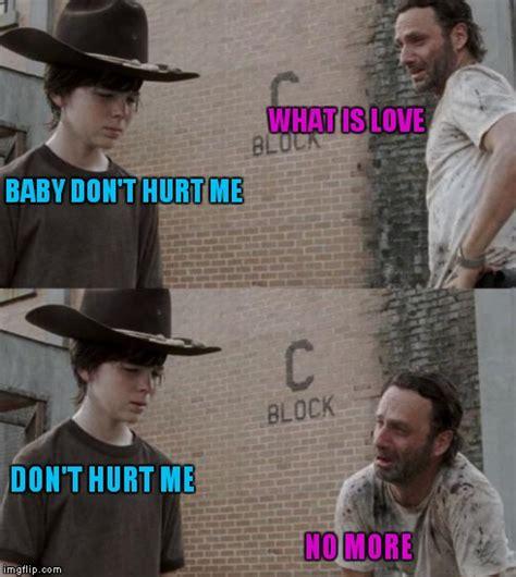 What Is Love Meme - rick and carl meme imgflip