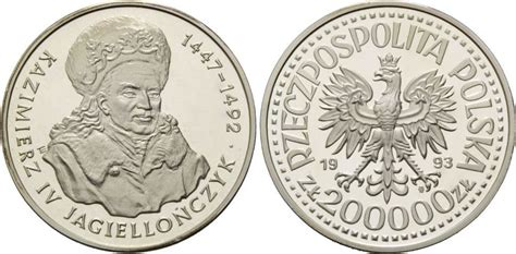 polnische möbelanbieter 200000 zlotych 1993 polen polnische k 246 nige kazimierz