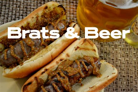 brats n beer brats and beer tap trail