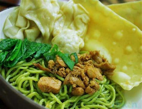 cara membuat mie ayam praktis resep dan cara membuat mie ayam hijau ijo mudah dan