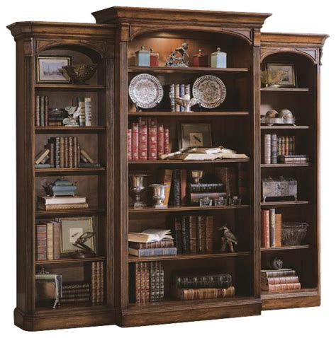 Hooker Furniture Brookhaven Bookcase Traditional Traditional Bookshelves