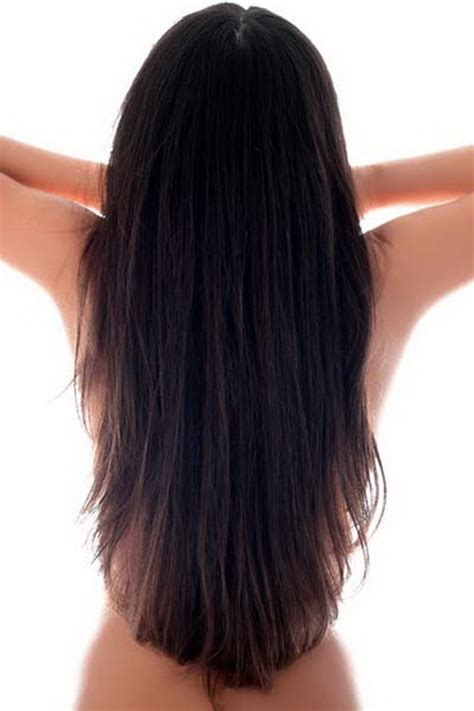 long hairstyles with rounded back long layered hair back