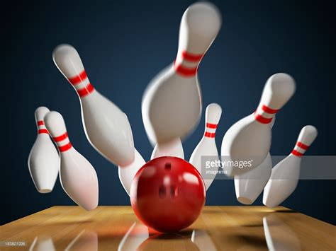 bowling images bowling strike stock photo getty images