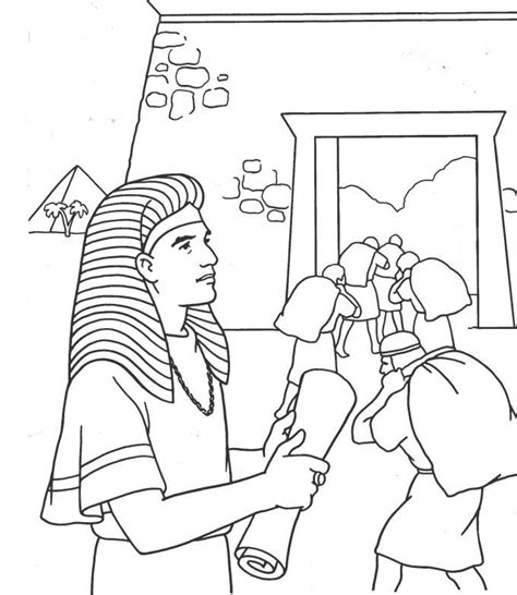 coloring pages of joseph in jail joseph and the coat of many colors coloring page google