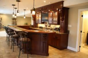 Exceptional Basement Bar Dimensions Plans #4: Traditional-basement.jpg