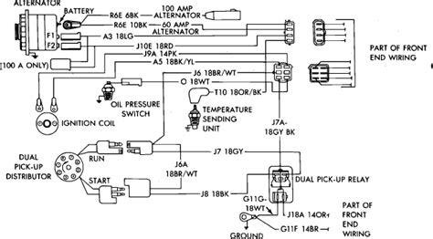 ramcharger distributor diagram wiring diagram with