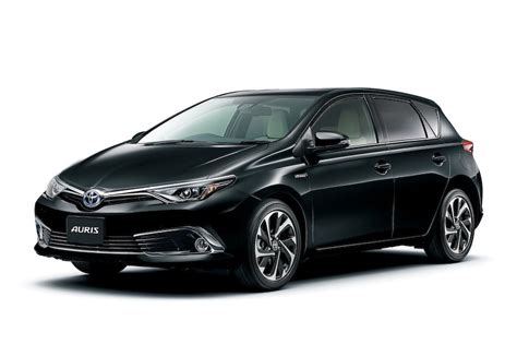 Toyota Auris Hybrid Toyota Auris Hybrid And 120t Rs Package Launched In Japan