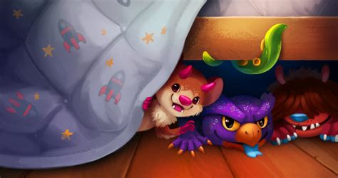 monsters under the bed monsters under the bed by tsaoshin on deviantart