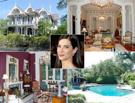 celebrity house photos sandra bullock photos inside celebrity homes ny