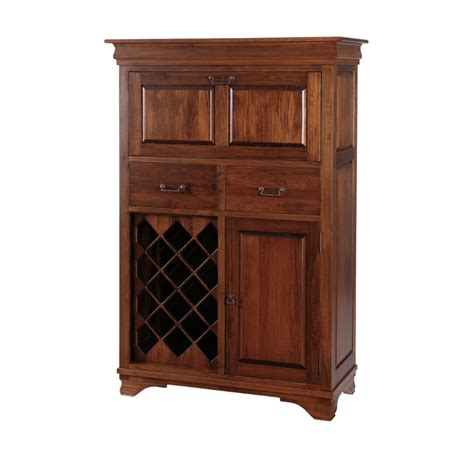 small bar cabinet home envy furnishings solid
