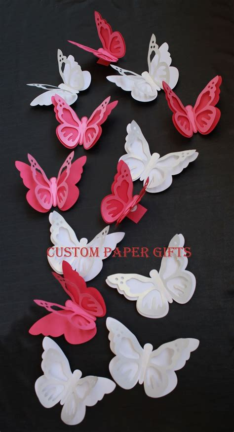 Handmade Butterfly Decorations - 24 best images about decorative paper flowers by custom