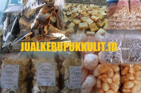 Kerupuk Rambak Kulit Sapi Dan Ikan jual kerupuk kulit rambak asli murah renyah dan berkualitas