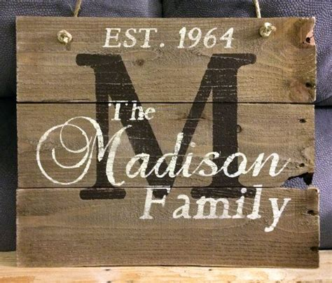 personalized wood signs home decor 1000 ideas about family signs on pinterest signs wood