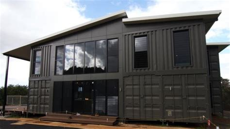 the lindendale luxury shipping container home by container