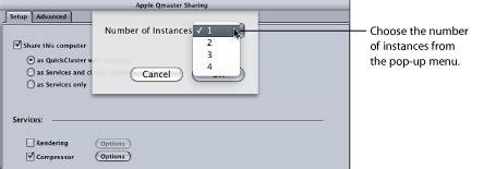 apple qmaster 有关群集的通用信息