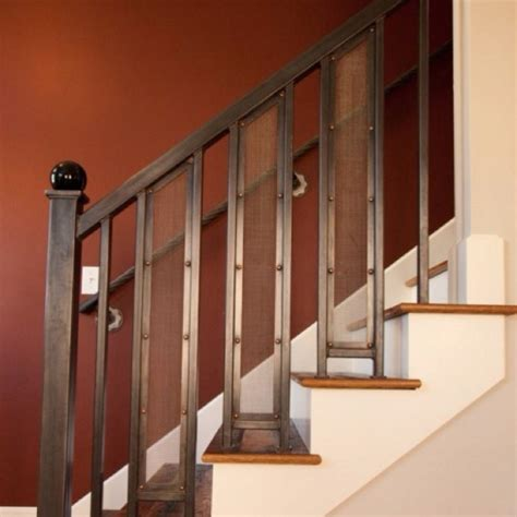 stairway banister ideas 21 best images about stair railings on pinterest log