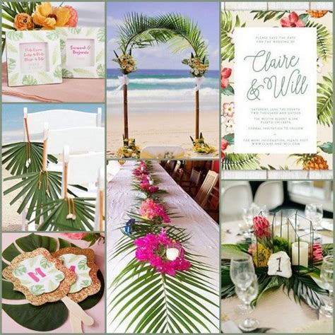 tropical themed wedding decorations 1000 ideas about palm tree cakes on tree