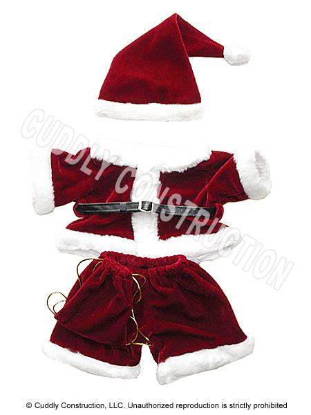 santa outfit gt stuffed animal party stuffable animals
