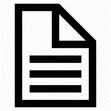 Document Draft File Note Paper Report Icon Icon Search Engine Ico White Paper Template
