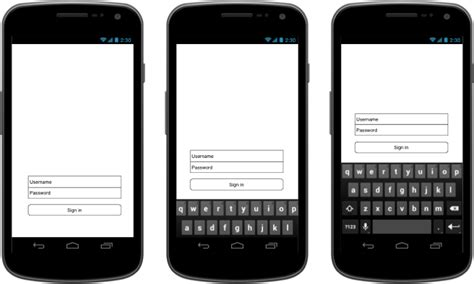 Android Layout Keyboard Scroll | android smooth scrolling layout when keyboard comes up