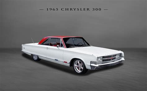 frank benz 1965 chrysler 300 2 door hardtop photograph by frank j benz