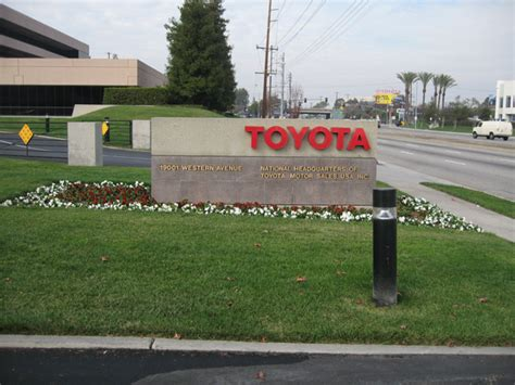 Toyota Headquarters Los Angeles Toyota Might Move From Us Hq Autoevolution