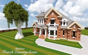 French Country Mansion French Country Home Minecraft House Design