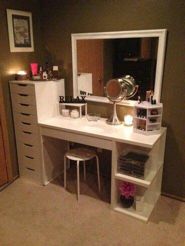 Handmade Vanity Table - 25 best ideas about vanity on makeup