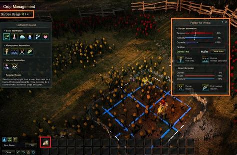 Black Desert Online How To Make Money - black desert crop management jpg