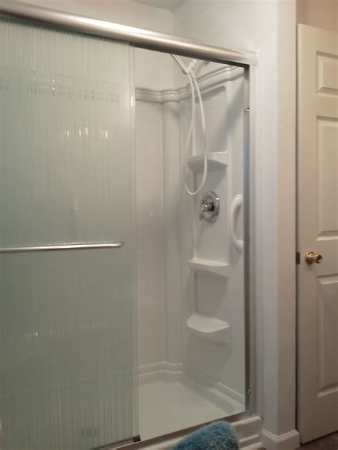 lowes bathroom shower kits shower enclosures kits lowes shower kits small shower
