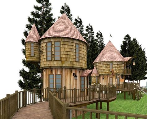Custom House Builder Online by Jk Rowling Plans 40ft High Adventure Treehouse For