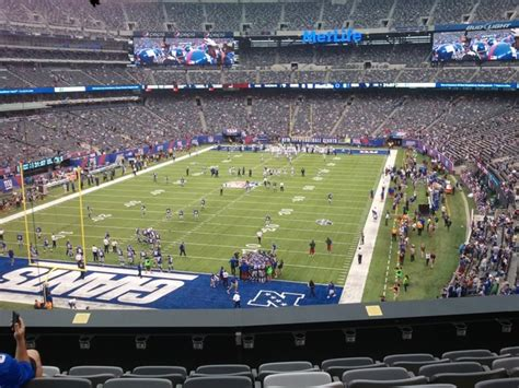 section 203a metlife stadium section 223 giants jets rateyourseats com