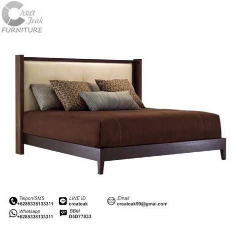 Ranjang Kasur Dari Kayu dipan minimalis jati kendo createak furniture createak furniture