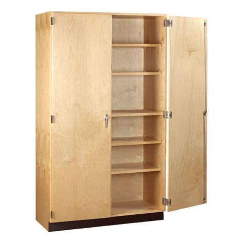 Wood Storage Cabinets by Shain Wood Storage Cabinet 30 Quot W X 22 Quot D X 84 Quot H At