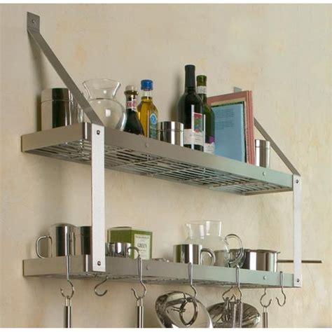 bookshelf pot rack in wall mount pot racks