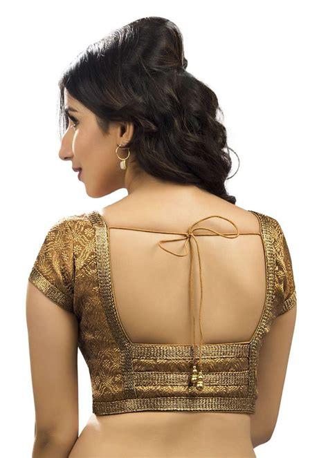 Blouse Jumbo Motif Cutting 4098 charismatic brocade copper sari blouse snt x 262 sl saris and things