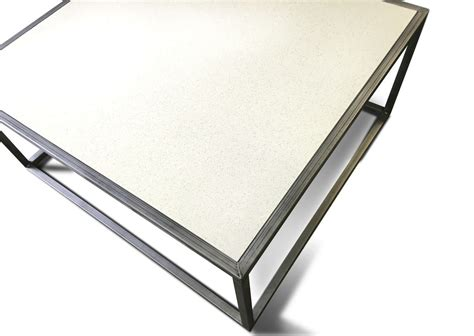 table quartz quartz top coffee table modern furniture and industrial