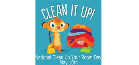 national clean your room day blogs