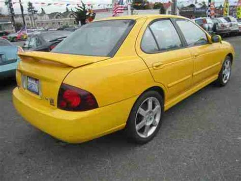 automotive service manuals 2004 nissan sentra parental controls buy used 2004 nissan sentra se r spec v sedan 4 door 2 5l low miles 87k no reserve price in