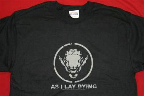 As I Lay Dying 16 T Shirt Size M t shirts rock band patches