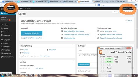 membuat wordpress offline di localhost menggunakan xp install wordpress di localhost menggunakan xampp keepstrong