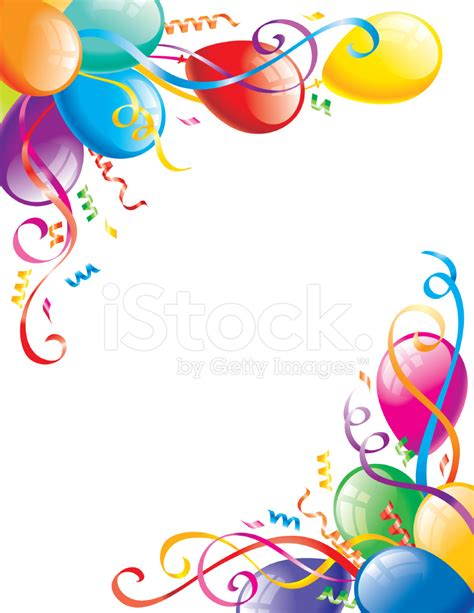 Multi Family Home Design by Decorative Party Balloons Stock Vector Freeimages Com