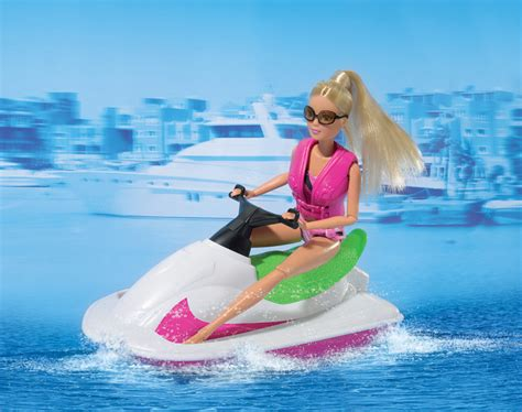barbie pool boat steffi love jet boat and fashion packs